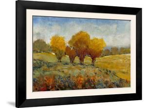Vivid Brushstrokes I by Tim O'toole