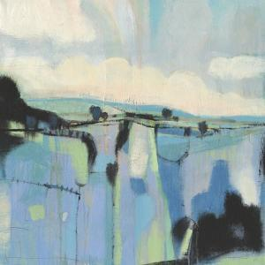 Abstract Shades of Blue I by Tim OToole