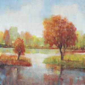 Lake Reflections II by Tim OToole