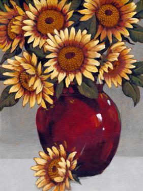 Vase of Sunflowers II by Tim OToole