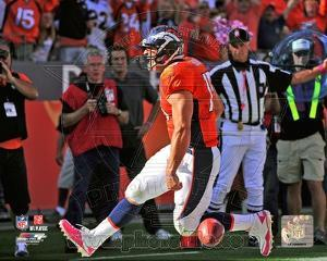 Tim Tebow 1st NFL Touchdown 2010 Action