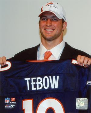Tim Tebow 2010 # 25 Draft Pick