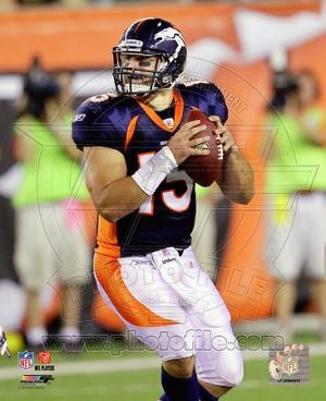 Tim Tebow 2010 Action