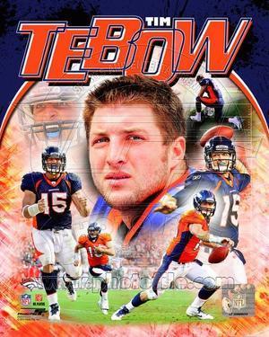 Tim Tebow 2011 Portrait Plus