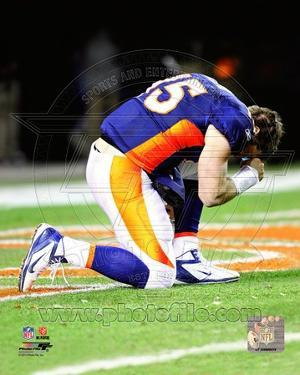 Tim Tebow after the Broncos won their 2011 AFC Wild Card Playoff Game