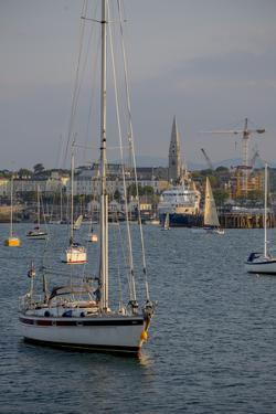 Harbour at Dun Laoghaire, a Suburb of Dublin by Tim Thompson