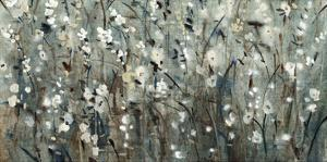 White Blooms with Navy II by Tim