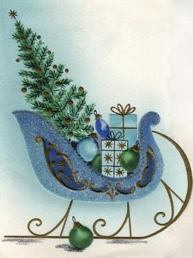 Xmas Tree in Sleigh by Tim Wright