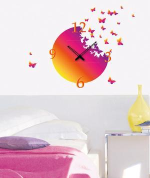 Time To Fly Clock Wall Decal