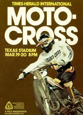 Times Herald Iternational Motocross Poster