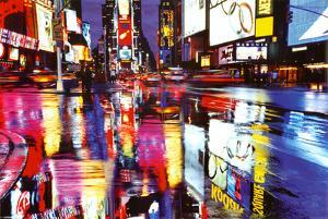 Times Square New York - City Color Reflections