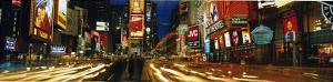 Times Square (New York City, Lights) Art Poster Print