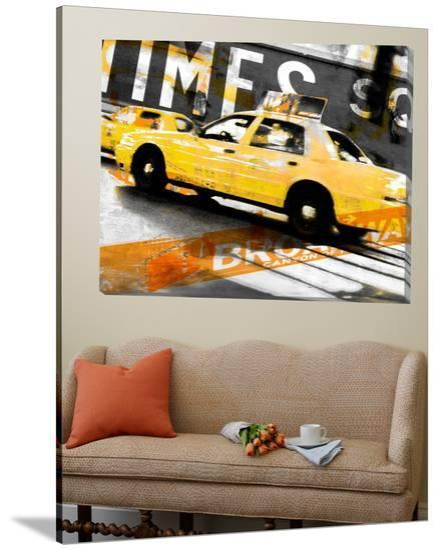 Times Square Taxi-GI ArtLab-Loft Art
