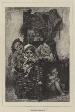 La Bagage De Croquemitaine, from the Paris Exhibition of 1874 by Timoleon Marie Lobrichon