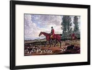 Horse Fox Hunt II by Timothy Blossom