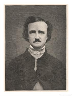Edgar Allan Poe American Writer by Timothy Cole