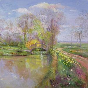 Spring Bridge, 1992 by Timothy Easton