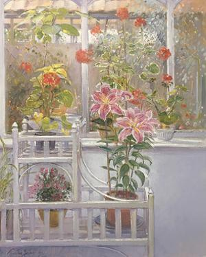 Through the Conservatory Window by Timothy Easton