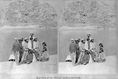Explorers at Diamond Creek