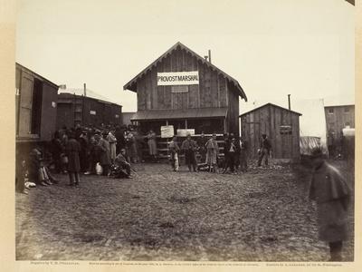 Provost Marshal's Office, Aquia Creek, February 1863