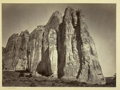 The South Side of Inscription Rock, 1873