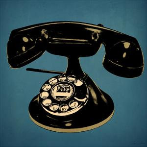 Blue Antique Tele by Tina Carlson