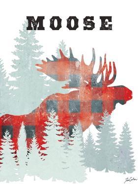 Plaid Moose by Tina Carlson