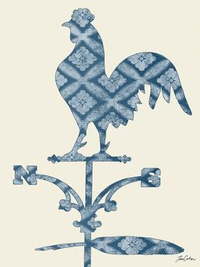 Weather Vane Rooster by Tina Carlson