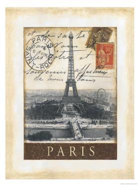 Destination Paris by Tina Chaden
