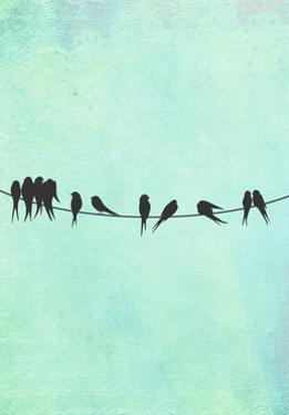Birds on a Wire by Tina Lavoie