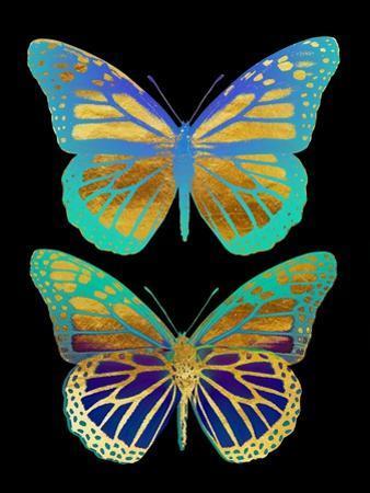 Danaus Plexippus Psychedelicus I by Tina Lavoie