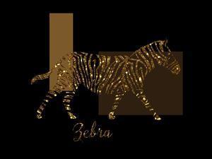 Gilt Zebra by Tina Lavoie