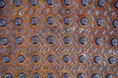 Old Montreal Metal Grate 02 by Tina Lavoie