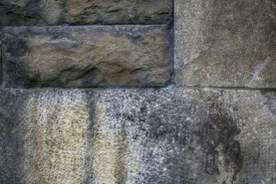 Old Montreal Stone Wall 01 by Tina Lavoie