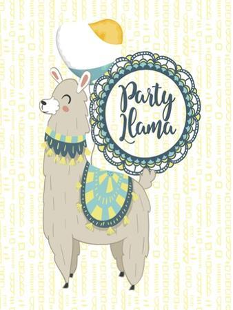 Party Llama by Tina Lavoie