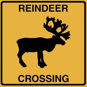 Reindeer Crossing by Tina Lavoie