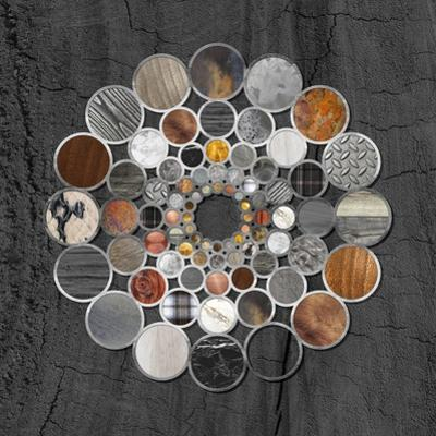 Rustic Geometry II by Tina Lavoie