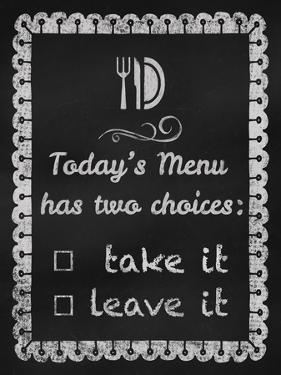 Today's Menu by Tina Lavoie