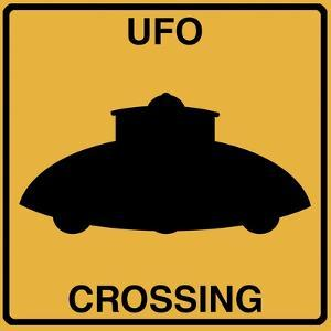 UFO Crossing by Tina Lavoie