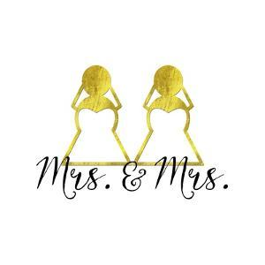 Wedding Couple - Mrs. Mrs. by Tina Lavoie