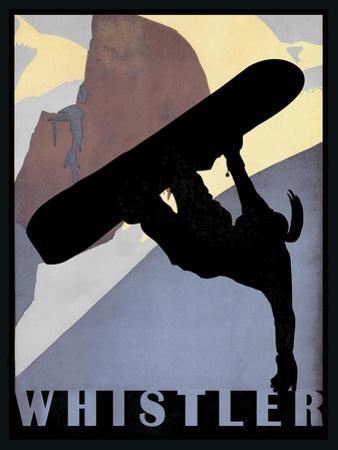 Whistler Mountain Winter Sports I by Tina Lavoie