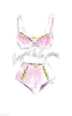 Lingerie de la Journee by Tina