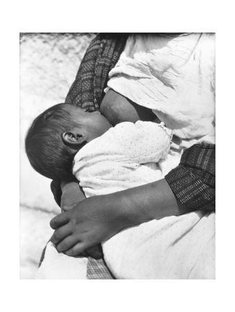 Baby Nursing (Conchita with Her Mother Luz Jimenez), Mexico City, 1926