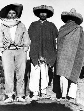 Campesinos, State of Veracruz, Mexico, 1927 by Tina Modotti