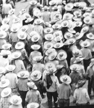 March of the Workers, Mexico City, 1926 by Tina Modotti