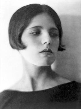 Maria Marin de Orozco, Mexico City, c.1925 by Tina Modotti