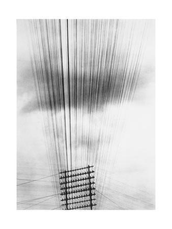 Telephone Wires, Mexico, 1925