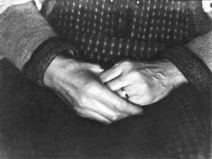 The Hands of Assunta Modotti, San Francisco, 1923 by Tina Modotti