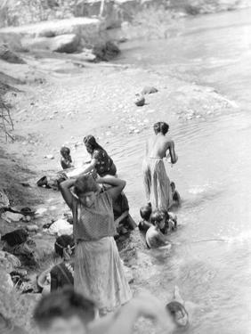 Washing at the River Near Tehuantepec, Mexico, 1929 by Tina Modotti