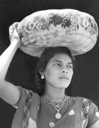 Woman in Tehuantepec, Mexico, 1929 by Tina Modotti